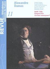 REVUE BNF T.11 ; Alexandre Dumas - Intérieur - Format classique