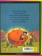 La nuit des soucoupes volantes - 4ème de couverture - Format classique