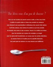Yaourts ; cent recettes de saison - 4ème de couverture - Format classique