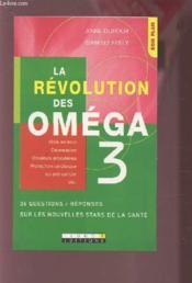 La revolution des omega 3 - Couverture - Format classique