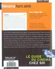 LA VIE (édition 2004) - 4ème de couverture - Format classique