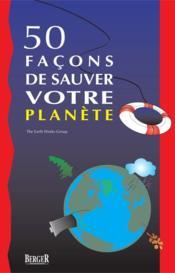 50 façons de sauver votre planète - Couverture - Format classique