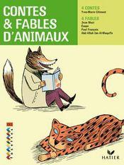 CE2 ; contes et fables d'animaux (édition 2009) - Couverture - Format classique