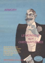 Le monsieur aux chrysanthèmes - Couverture - Format classique