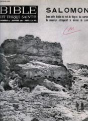 Bible Et Terre Sainte, N° 25, Jan. 1960 - Couverture - Format classique