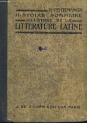 Histoire Sommaire Illustree De La Litterature Latine - Couverture - Format classique
