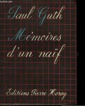 Memoires D'Un Naif - Couverture - Format classique