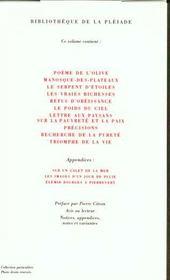 Récits et essais - 4ème de couverture - Format classique
