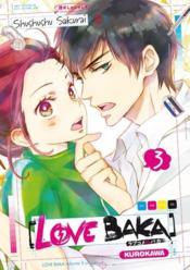 Love baka T.3 - Couverture - Format classique