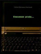 Discussion privée... - Couverture - Format classique
