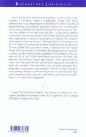 L'Execution Forcee En Droit Des Societes - 4ème de couverture - Format classique