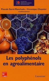 Les polyphenols en agroalimentaire ; staa - Couverture - Format classique