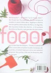 Petits bouquets de cuisine - 4ème de couverture - Format classique