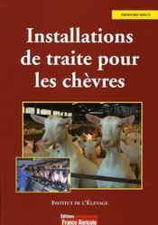 Installation de traite pour les chèvres - Intérieur - Format classique