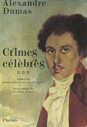 Crimes célèbres t.3 - Intérieur - Format classique