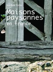 Maisons paysannes en France - Couverture - Format classique
