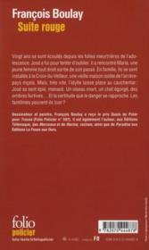 Suite rouge - 4ème de couverture - Format classique