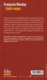 Suite rouge - Couverture - Format classique
