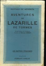 Aventures De Lazarille De Tormes - Couverture - Format classique