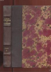 Contes Et Nouvelles De La Fontaine. Tome 2 - Couverture - Format classique
