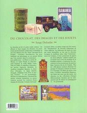 Du Chocolat Des Images Et Des Jouets - 4ème de couverture - Format classique