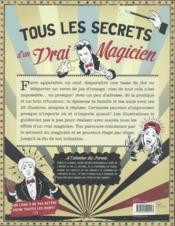 Grande magie pour petites mains - 4ème de couverture - Format classique