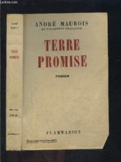 Terre Promise- Envoi De L Auteur - Couverture - Format classique