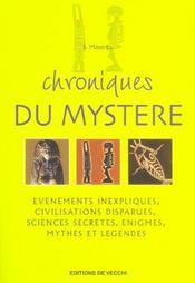 Chroniques Du Mystere - Intérieur - Format classique