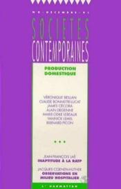 Production Domestique - Couverture - Format classique