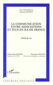 Communication Entre Associations Et Elus En Ile De Fra - Intérieur - Format classique