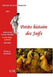 Petite Histoire Des Juifs - Couverture - Format classique