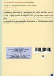 Francais brevet - 4ème de couverture - Format classique