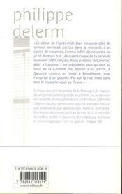 À Garonne - 4ème de couverture - Format classique