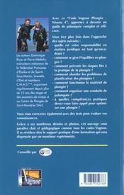 Plongee niveau 4 - 4ème de couverture - Format classique