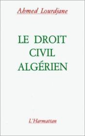 Le droit civil algérien - Couverture - Format classique