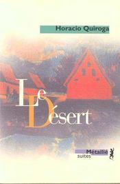 Le désert - Intérieur - Format classique