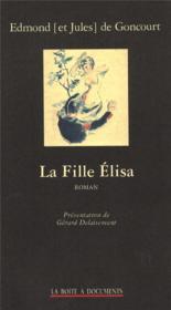 La fille Elisa - Couverture - Format classique