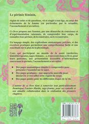 Le Perinee Feminin Et L'Accouchement - 4ème de couverture - Format classique