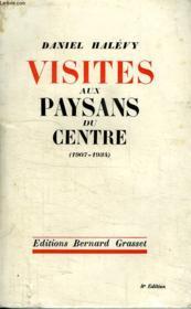 Visites Aux Paysans Du Centre.1907-1934. - Couverture - Format classique