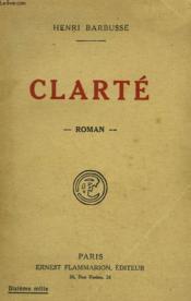 Clarte. - Couverture - Format classique