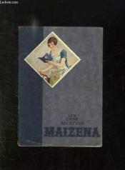 Les Cent Recettes Maizena. - Couverture - Format classique