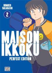 Maison Ikkoku ; Juliette je t'aime - perfect edition T.2 - Couverture - Format classique