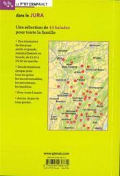 Dans le Jura (2e édition) - 4ème de couverture - Format classique