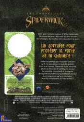 Les Chroniques de Spiderwick Le livre de jeux de Chafouin - Jen Funk Weber