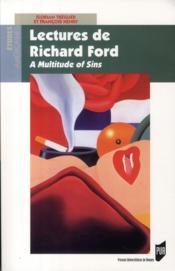 Lectures de Richard Ford ; a multitude of sins - Couverture - Format classique