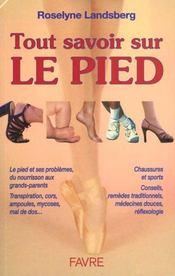 Tout savoir sur le pied - Intérieur - Format classique