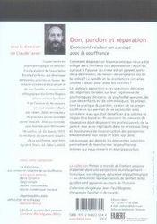 Don, pardon et réparation - 4ème de couverture - Format classique