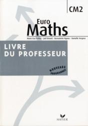 CM2 ; livre du professeur (édition 2009) - Couverture - Format classique
