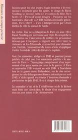 Sauver paris memoires du consul de suede - 4ème de couverture - Format classique