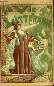 Le Camelia Bleu. 2eme Partie Et Fin. La Vie Litteraire. - Couverture - Format classique
